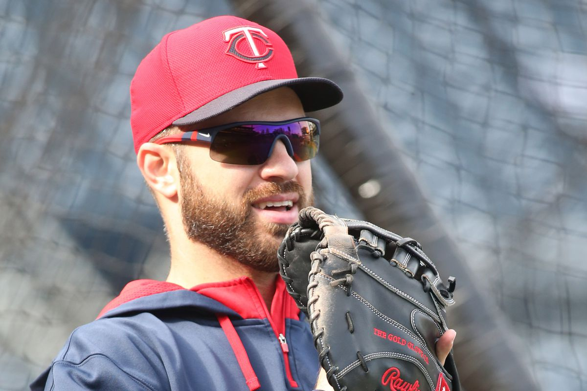 """""""I'm Joe Mauer and I'm here to say, I'm going to actually play a game today!"""""""