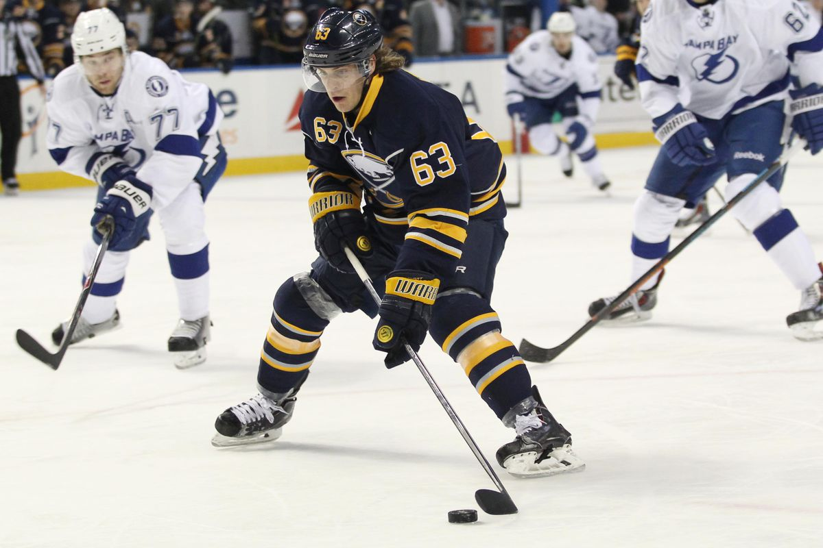 Tyler Ennis is one of the few holdovers for the Buffalo Sabres.