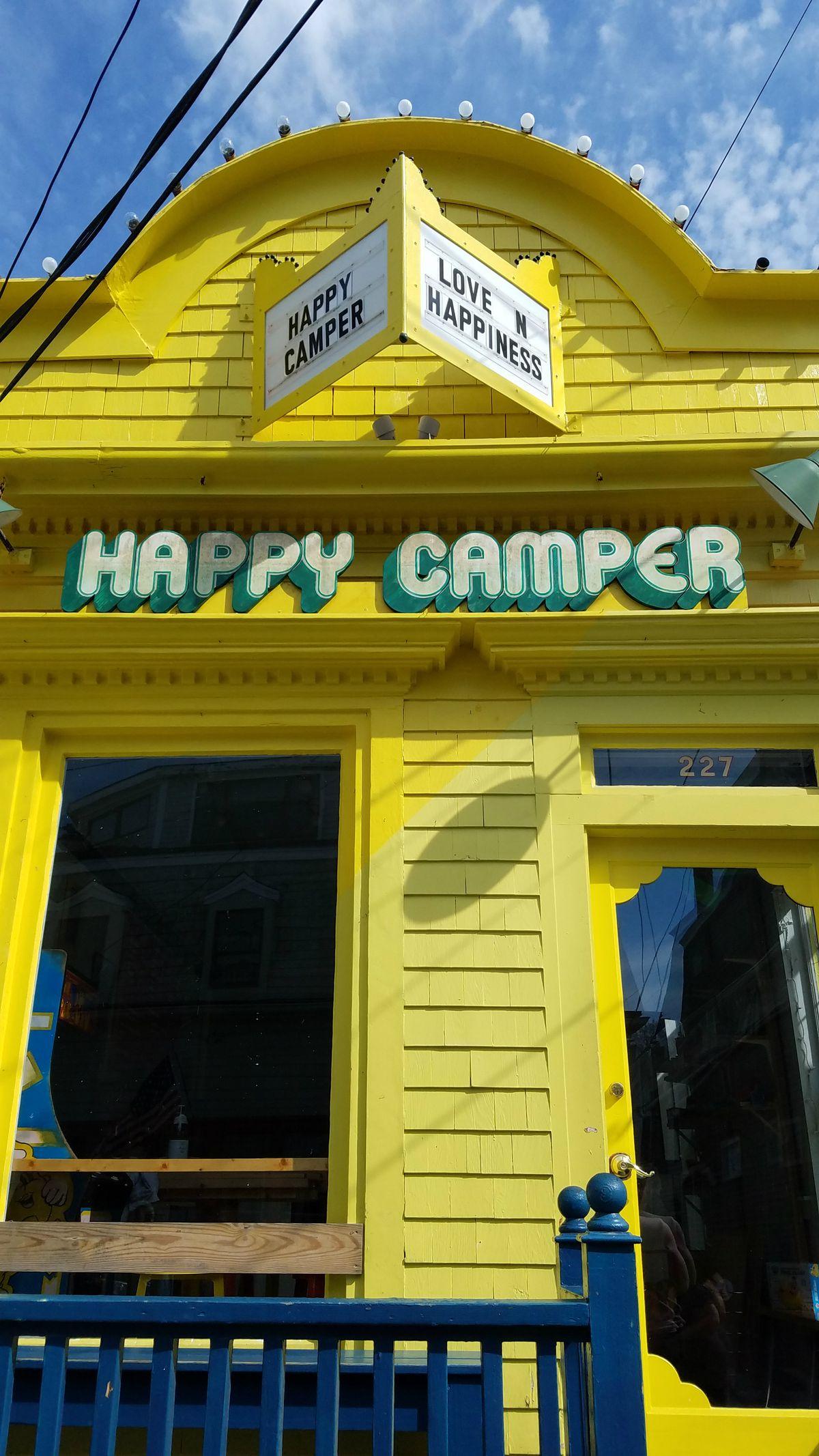 Happy Camper, pre-Tanuki