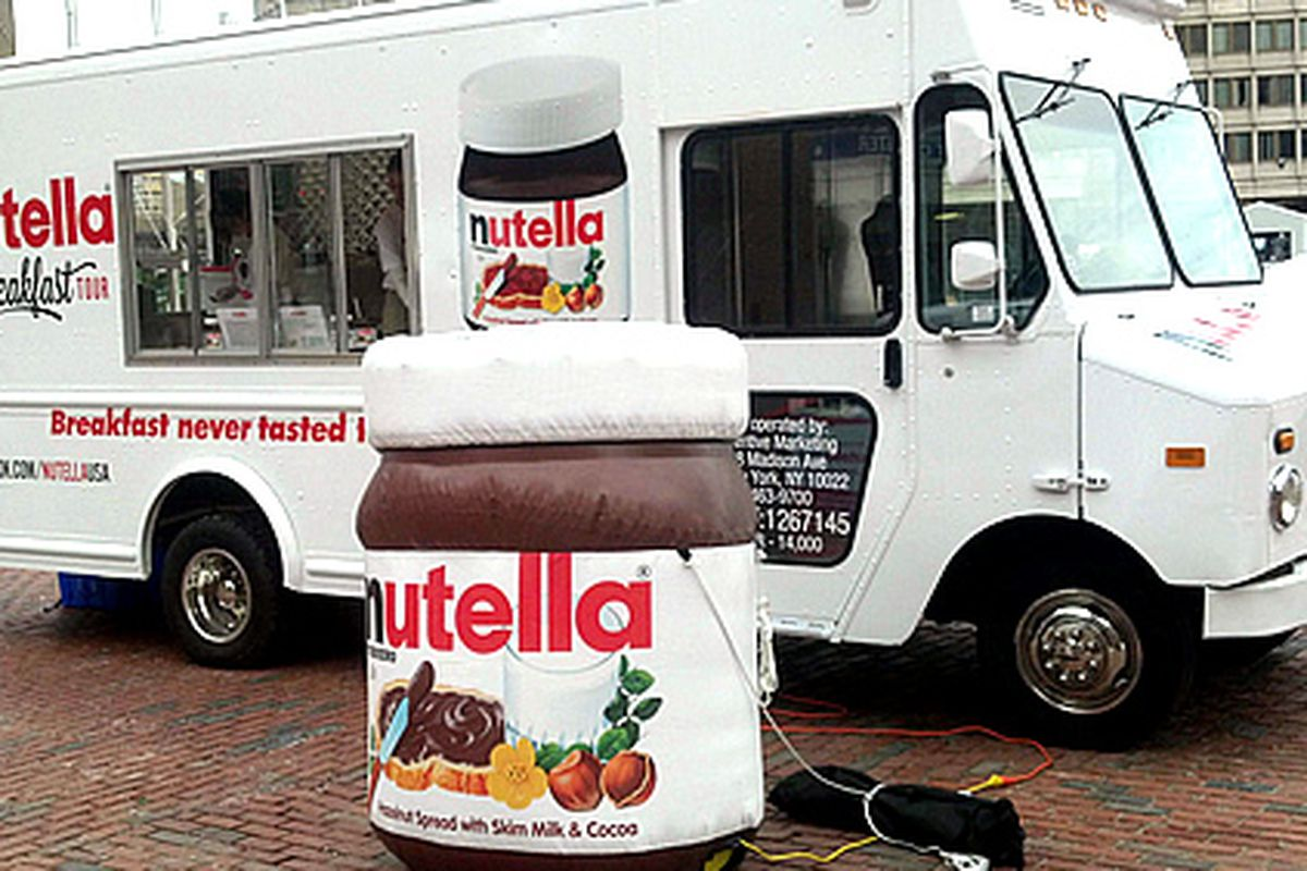 Yes, there's a Nutella truck.
