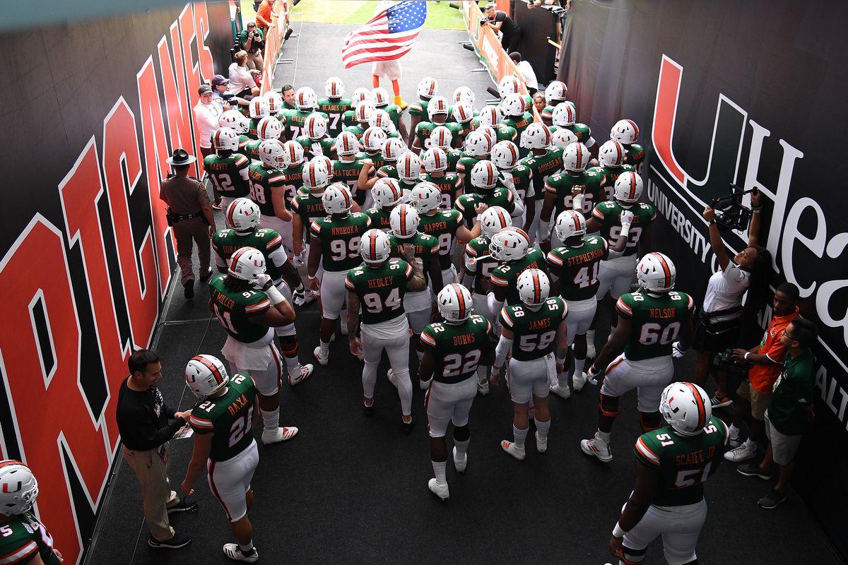 GAME THREAD: Miami Hurricanes vs Virginia Tech Hokies