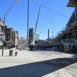 View from Clark & Waveland -