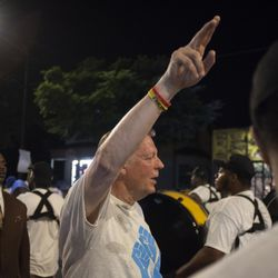 Rev. Pfleger requested for 1,000 people to participate in the shutting down of the Dan Ryan on July 7. | Colin Boyle/Chicago Sun-Times