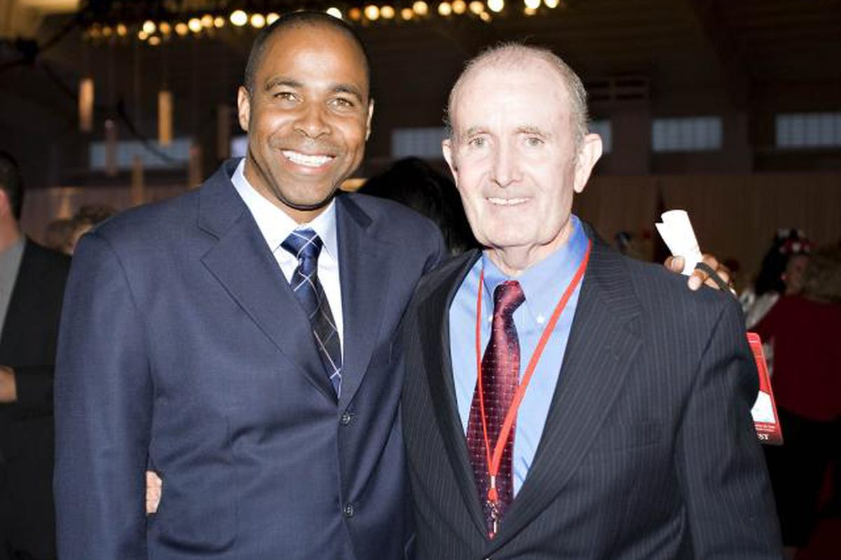 "Gold medal winner Mike Conley and legendary coach John McDonnell via <a href=""http://image.cdnllnwnl.xosnetwork.com/pics24/640/IC/ICTPJGQUXNSPYOE.20080919041706.jpg"">image.cdnllnwnl.xosnetwork.com</a>"