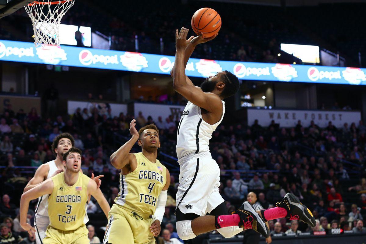 NCAA Basketball: Georgia Tech at Wake Forest
