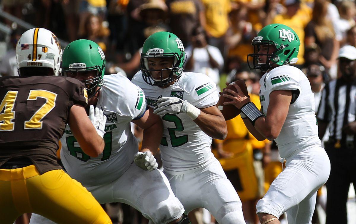 NCAA Football: North Dakota at Wyoming