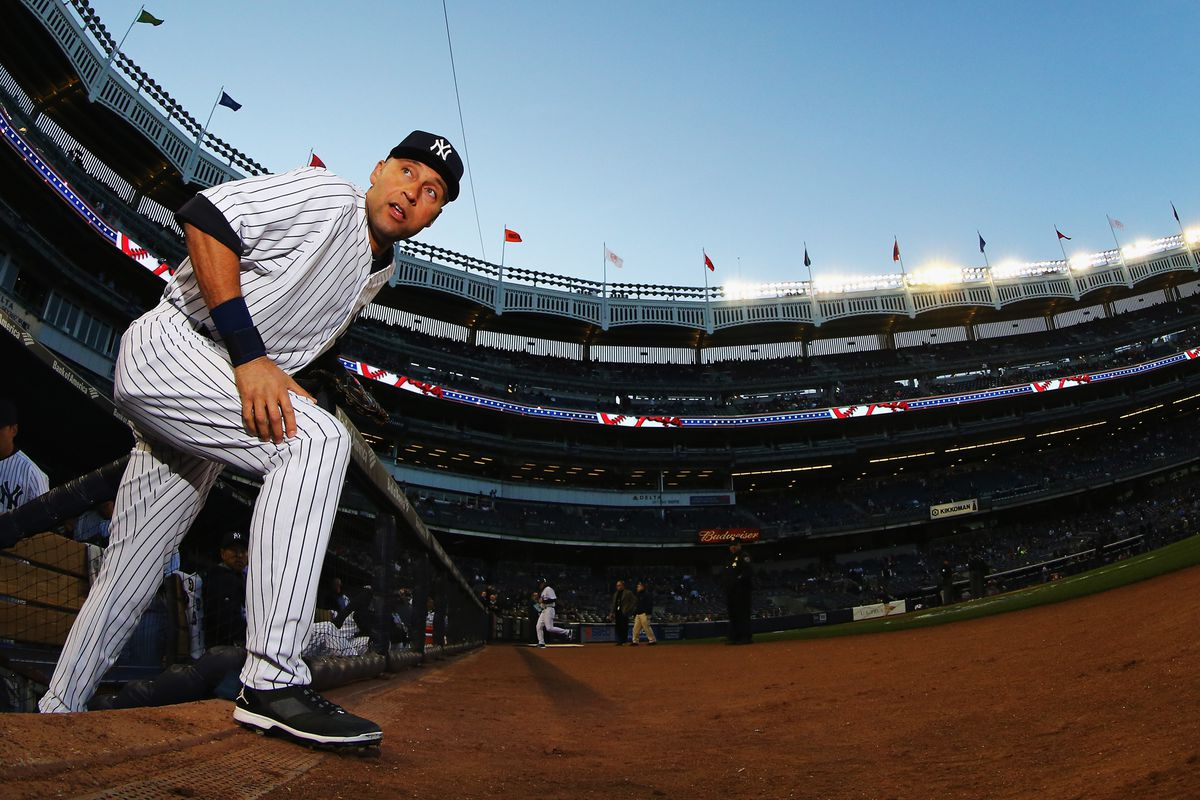 It's the LAST time Derek Jeter will play in a regular-season series opener against the Twins in the Bronx.