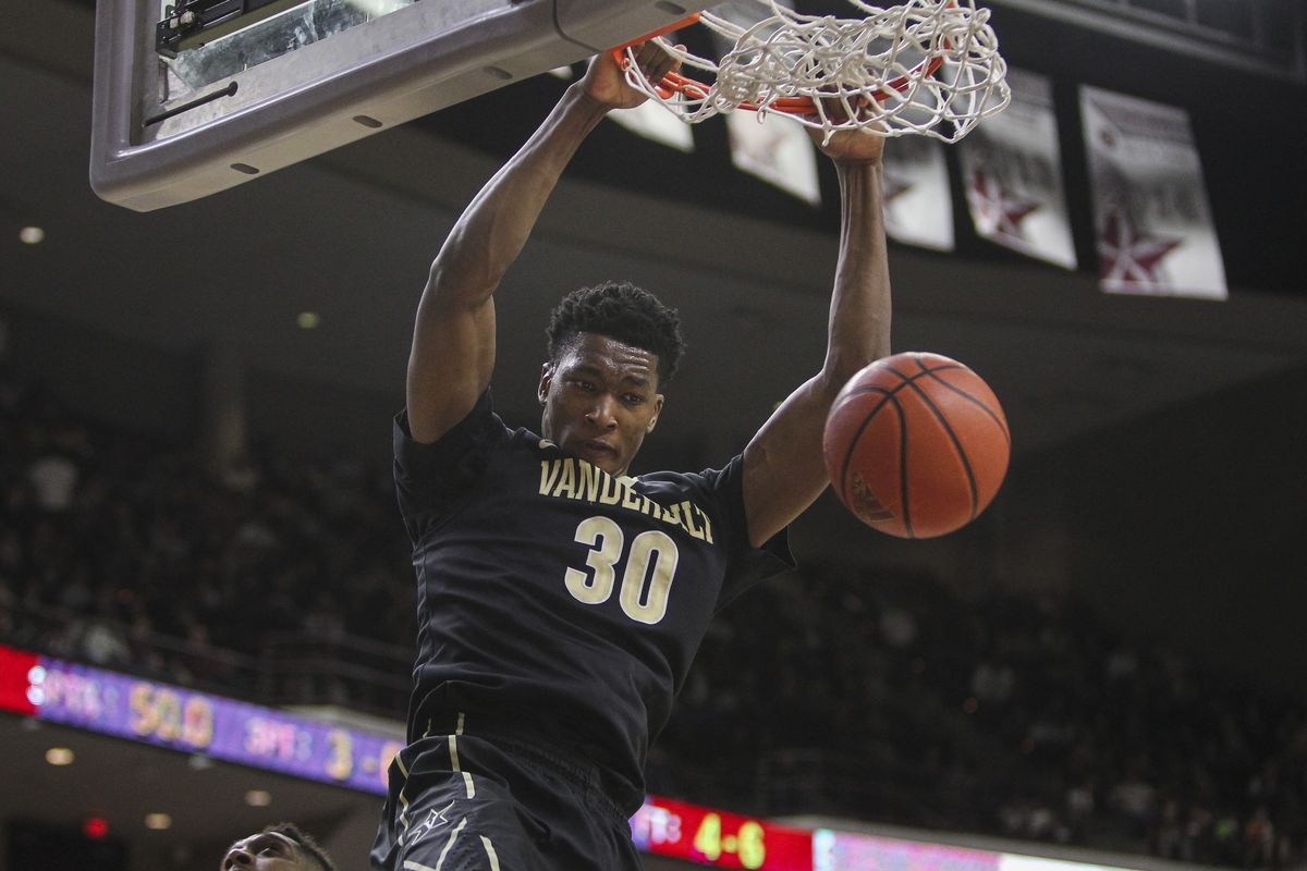 2015 Vanderbilt Basketball Season Preview  Center - Anchor Of Gold 33ce63c74