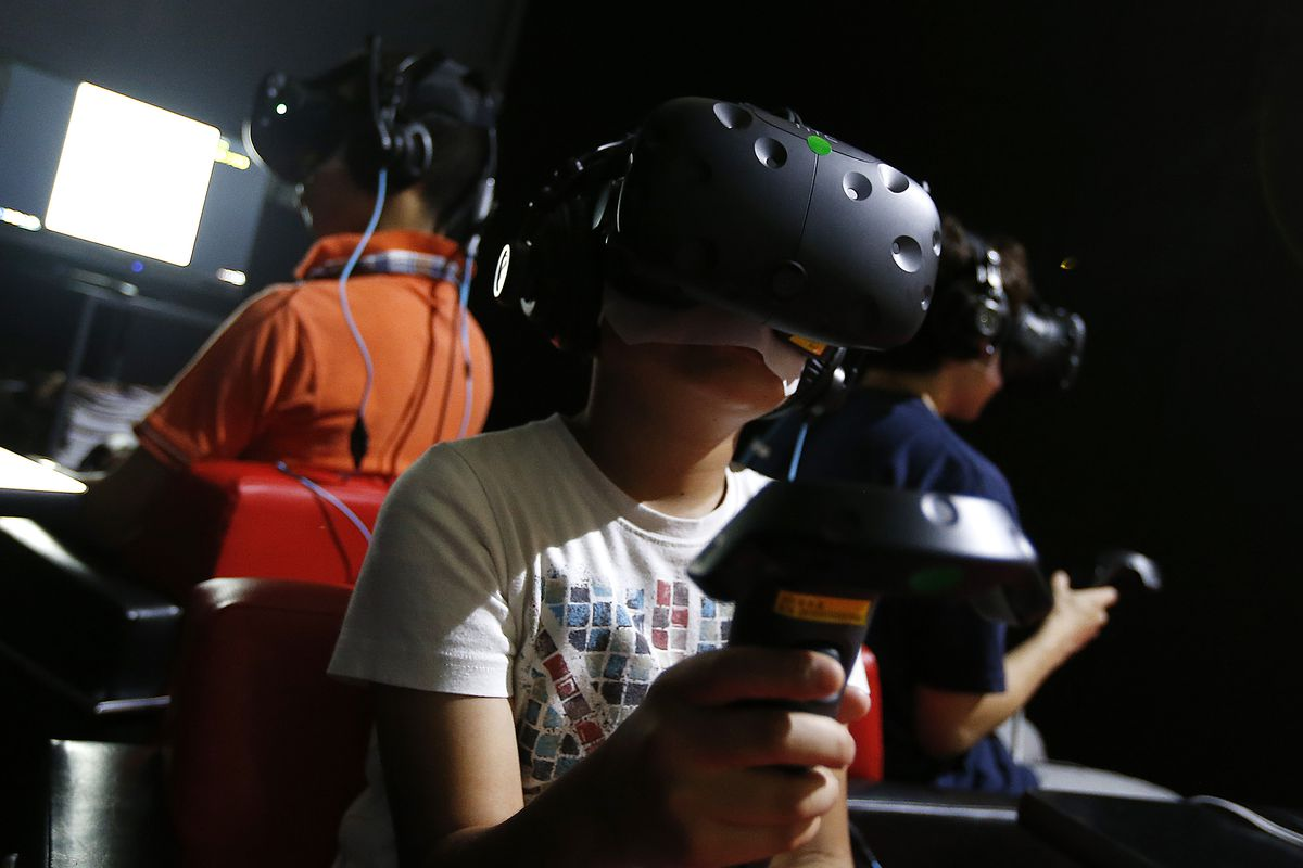 HTC Vive at Tokyo Game Show 2016