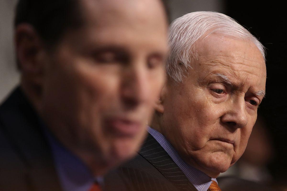 A Testy Orrin Hatch Defends Republican Tax Plan During Senate Hearing
