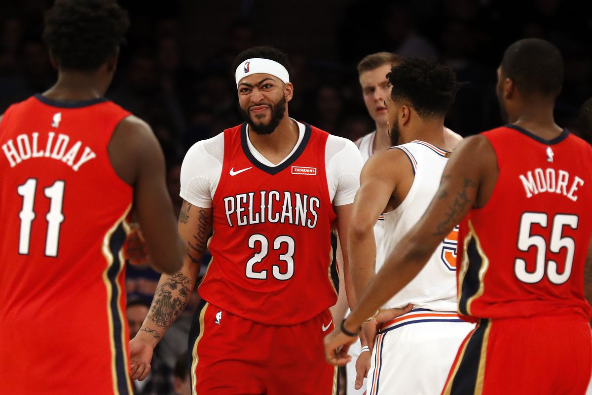 3a5683f0812c New Orleans Pelicans look to notch first preseason win against New York  Knicks