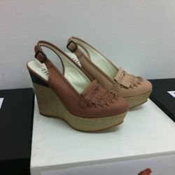 Wedge loafers $180 a pair