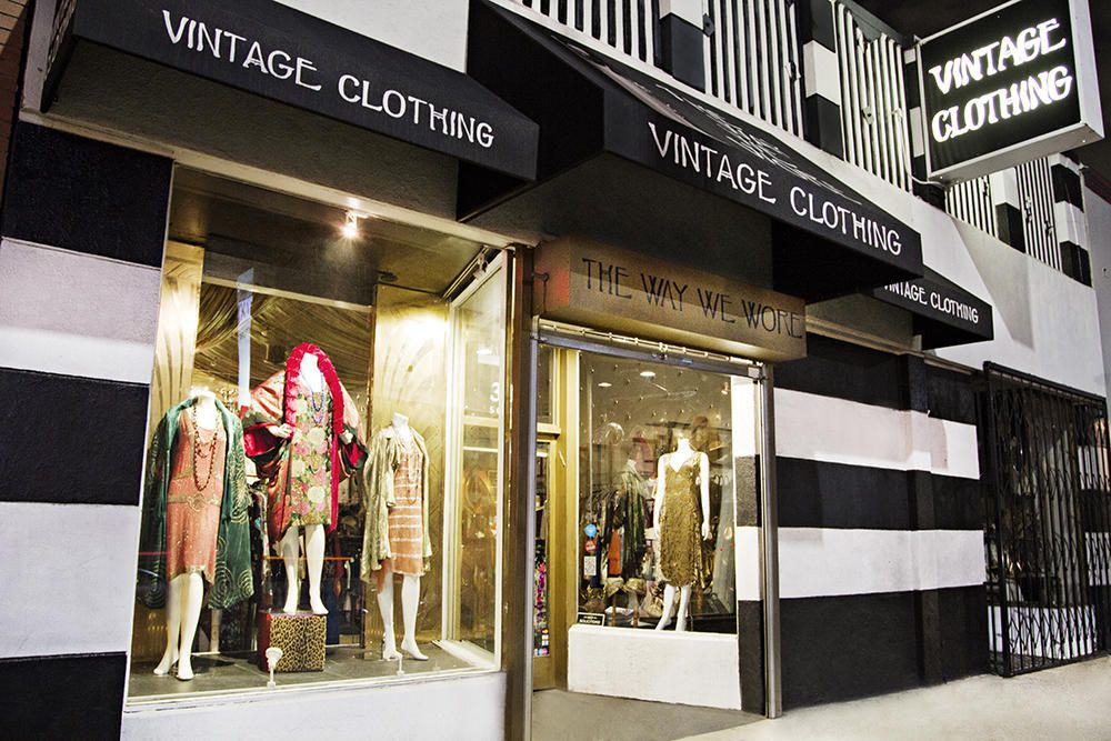 The Way We Wore vintage boutique on La Brea