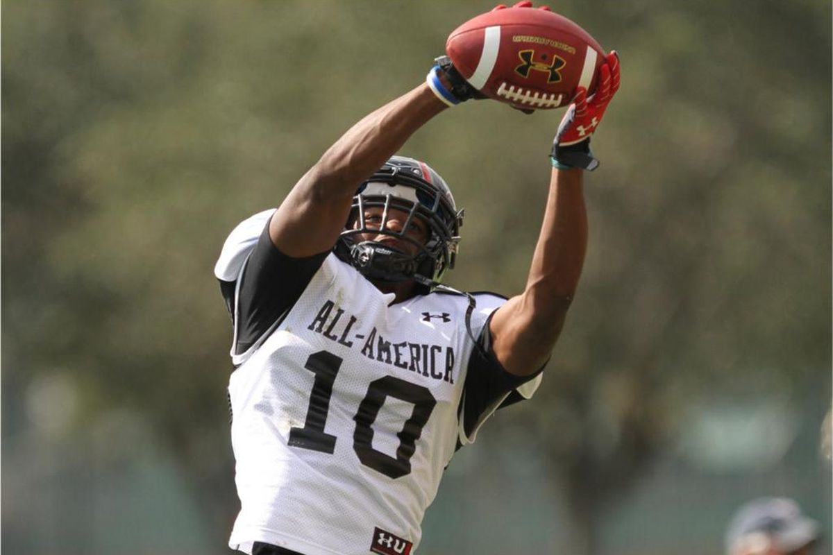 Ra'Shaad Samples took part in last years Under Armor All-American Game as a Oklahoma State commit.