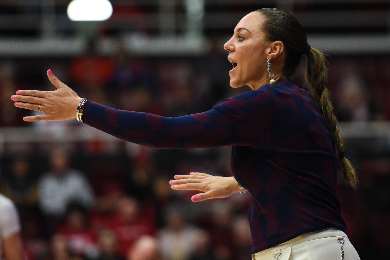 Arizona coach Adia Barnes explains why she started a podcast