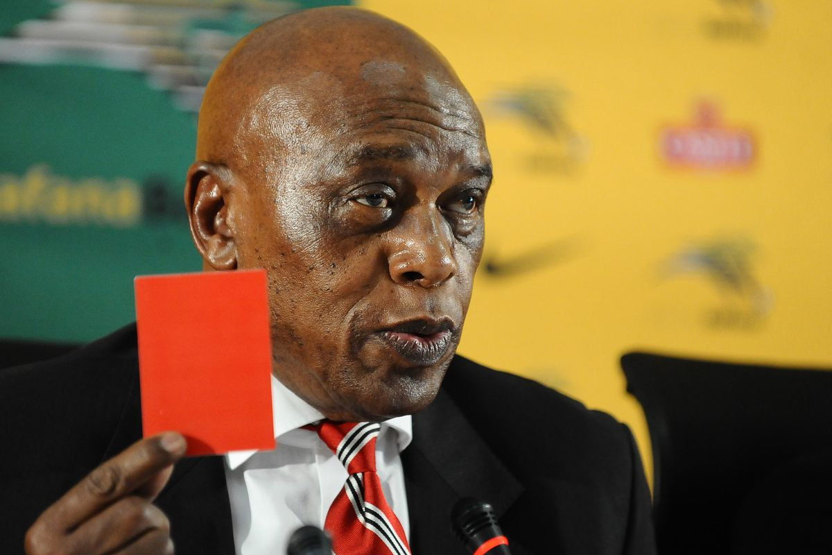 This man's name is Tokyo Sexwale. You get a red card for not having a name that's nearly as cool.