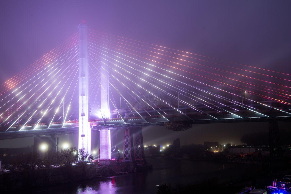 New York S Rebuilt Kosciuszko Bridge Makes Its Big Debut