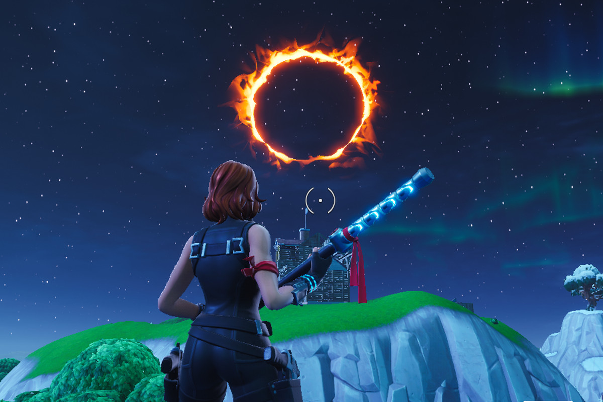Fortnite flaming hoop and canon locations challenge guide - Polygon