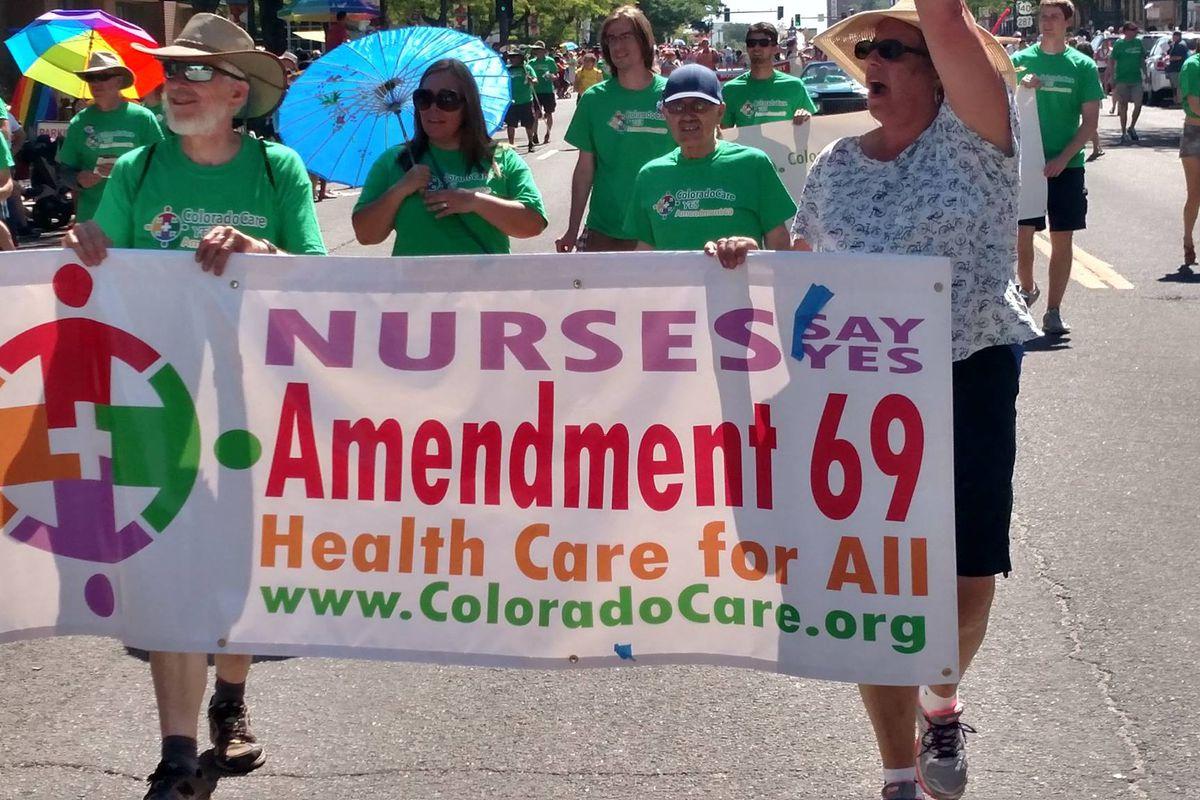 Single-payer health care failed miserably in Colorado last year