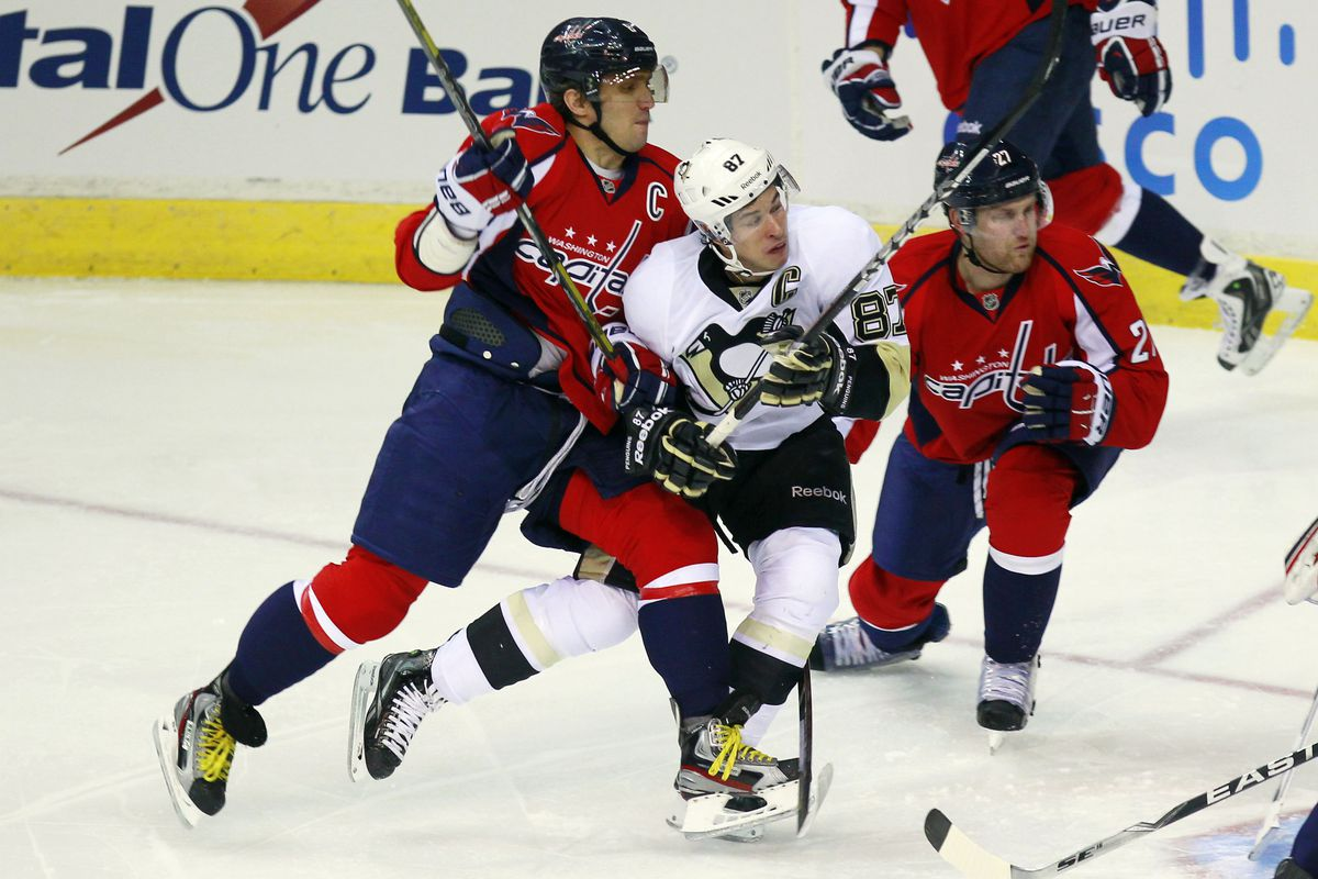 Crosby vs Ovechkin never gets old.