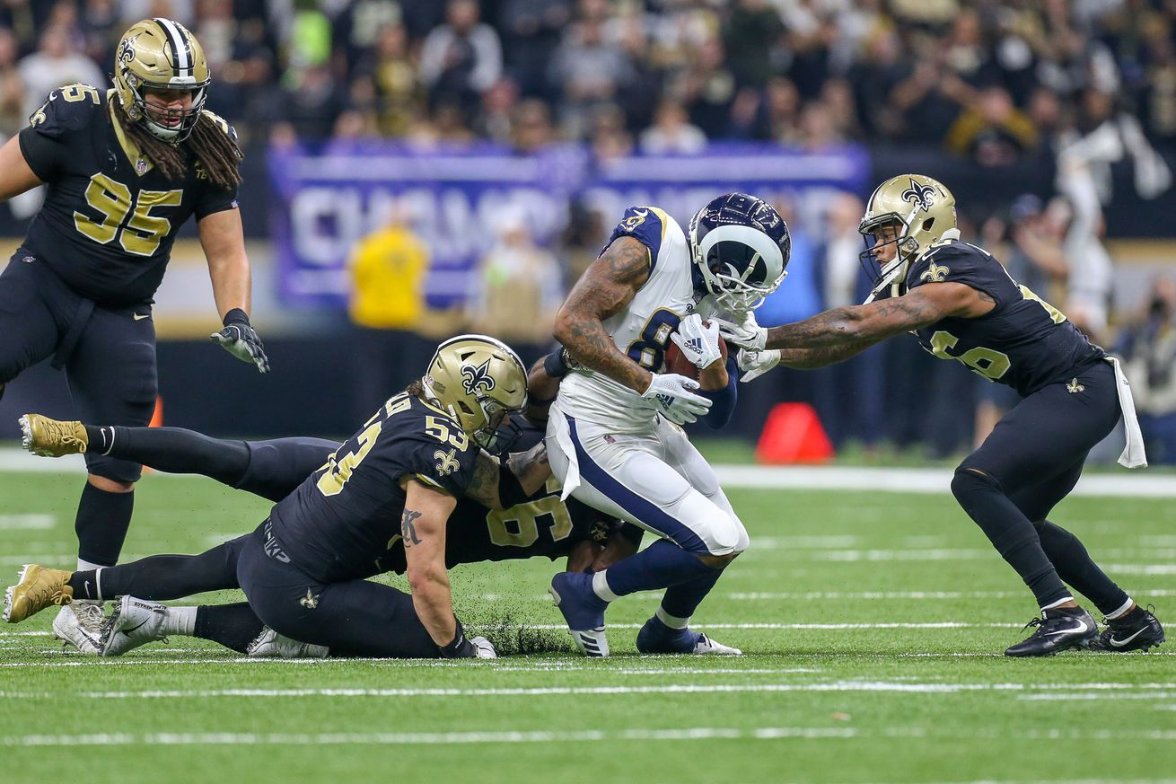 NFL: JAN 20 NFC Championship Game - Rams at Saints