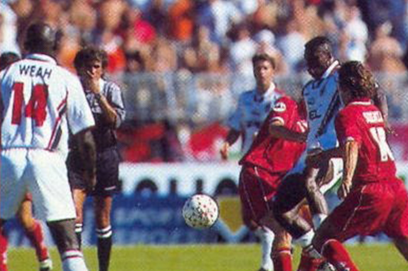 Rossoneri Advent Calendar Day 14: George Weah and the Wonder Goal