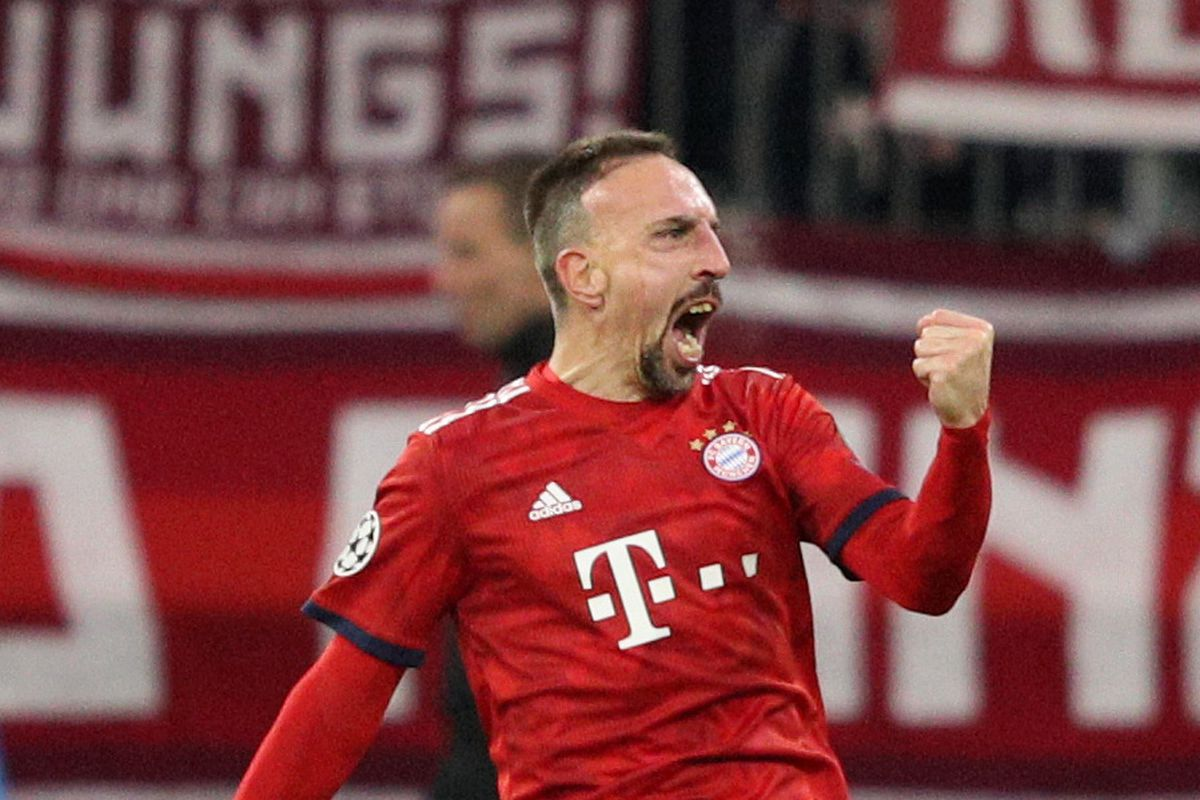 """online store 19f95 b5836 22-year-old"""" Ribery helps Bayern Munich get back to familiar ..."""
