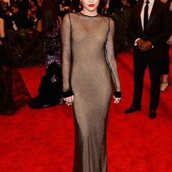 Miley Cyrus in Marc Jacobs in 2013.