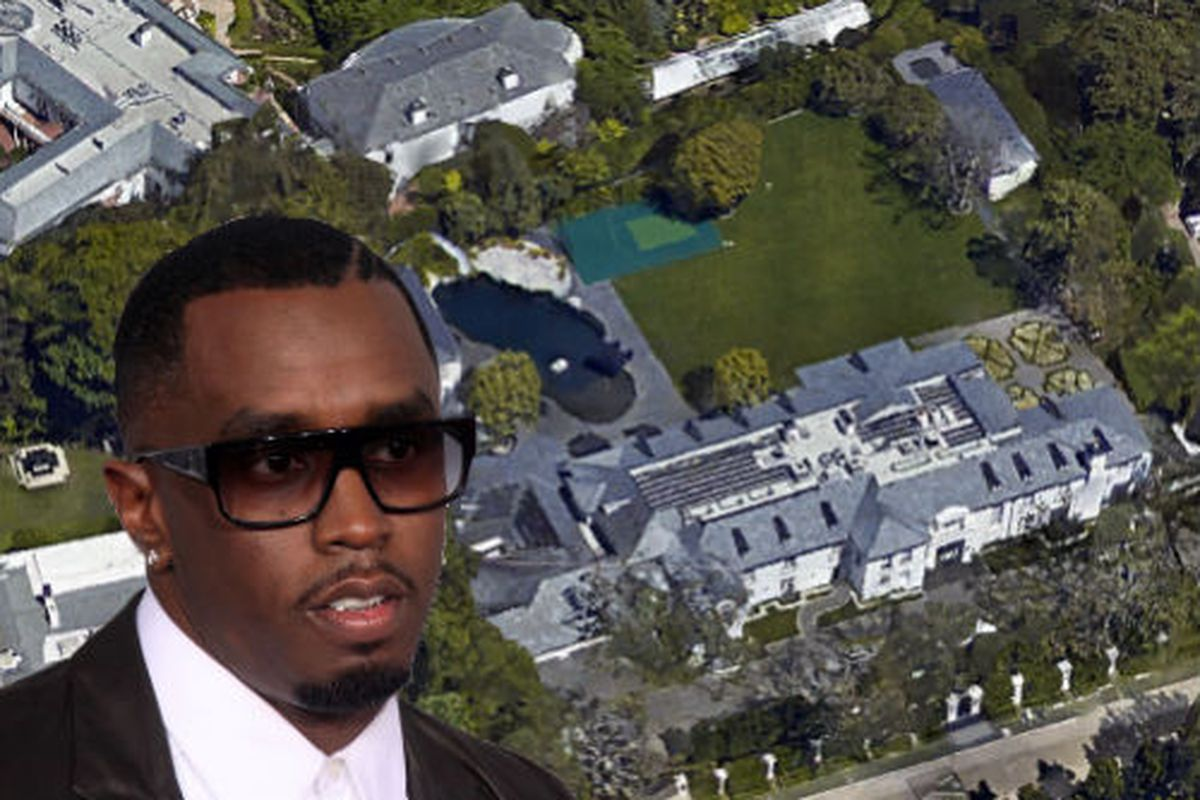 Diddy S New 39 Million Mansion Has An Underwater Tunnel Curbed La