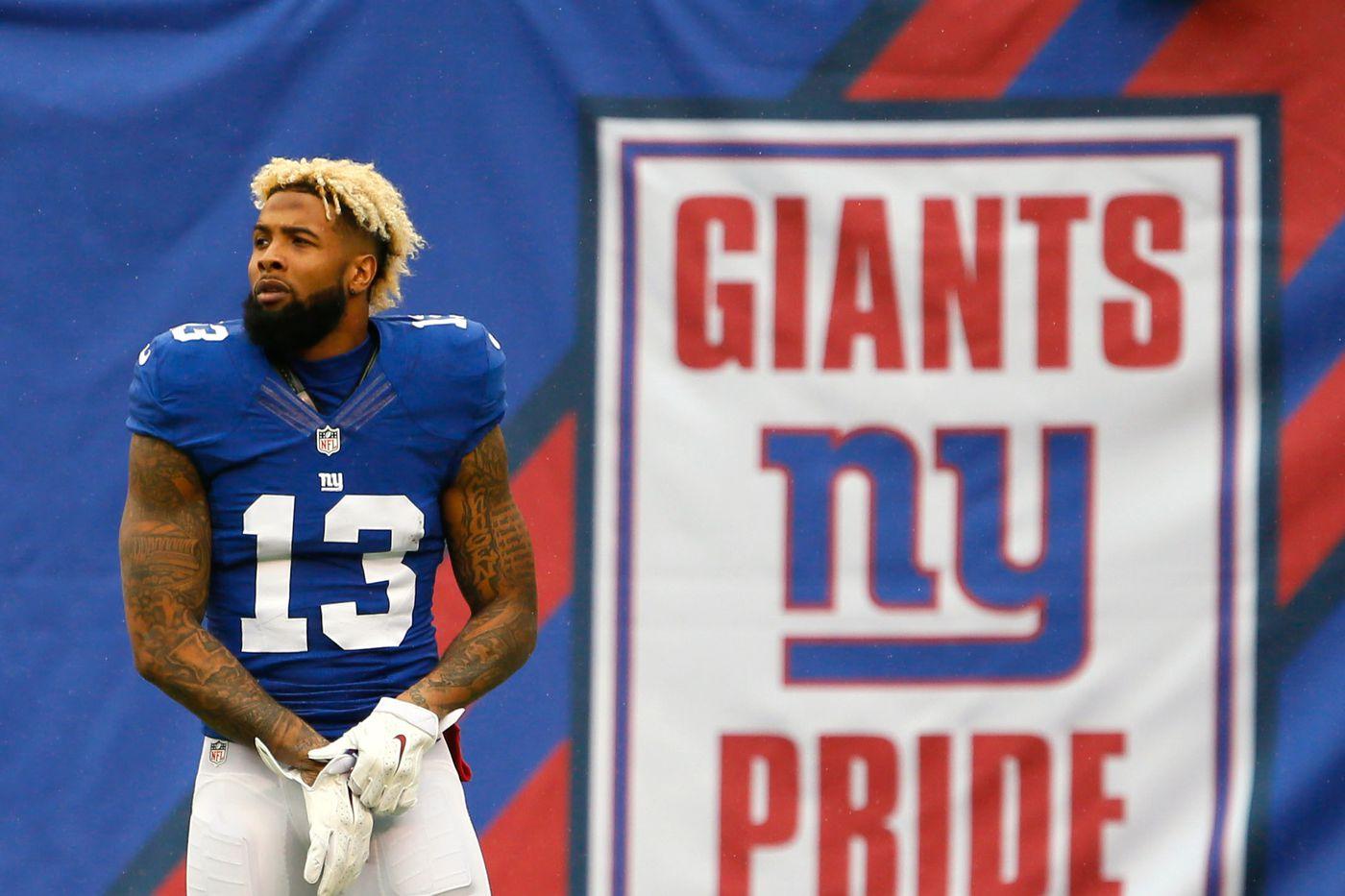 Odell Beckham Jr. deserved a mega contract. The Giants made it ... 6eec170ef