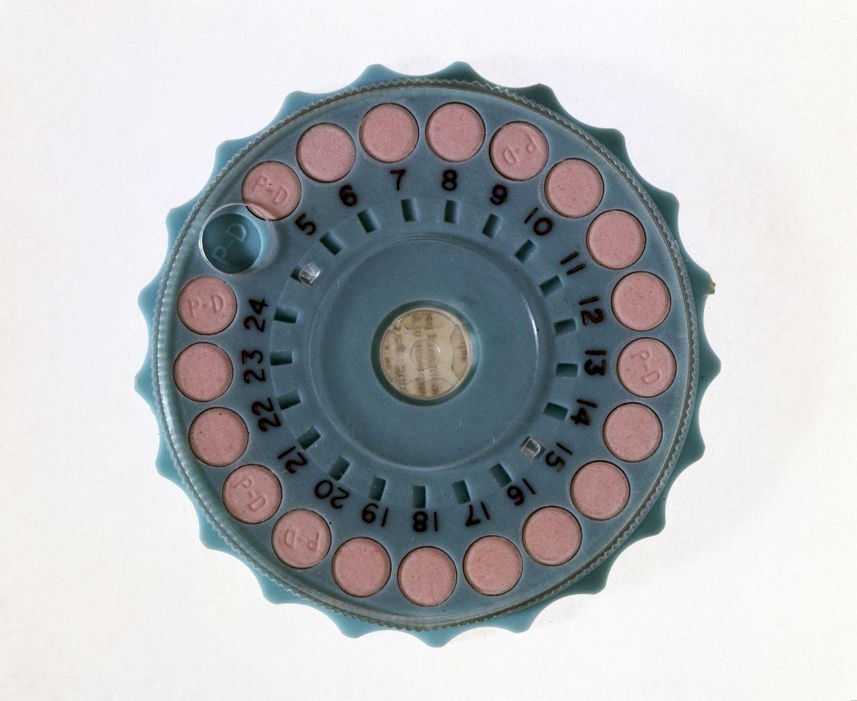 birth control pills 1960