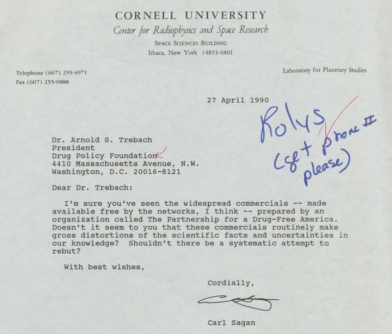 Read Carl Sagan s newly revealed letters about the war on s Vox