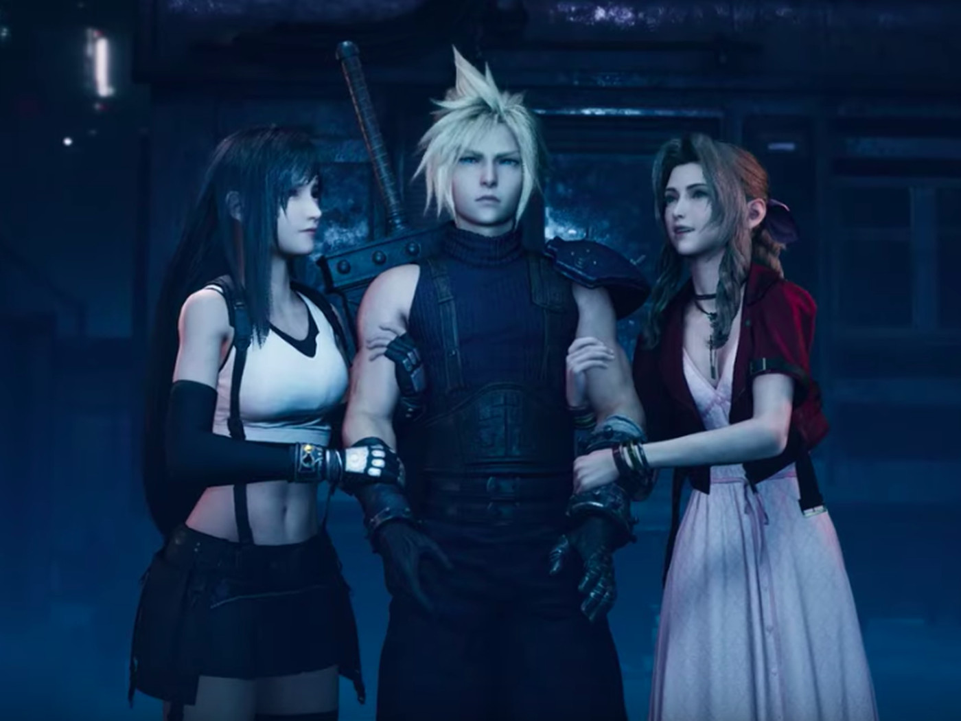 Final Fantasy 7 Remakes Tgs Trailer Is Full Of Familiar
