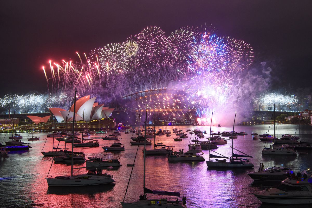 Australians Celebrate New Year's Eve 2020