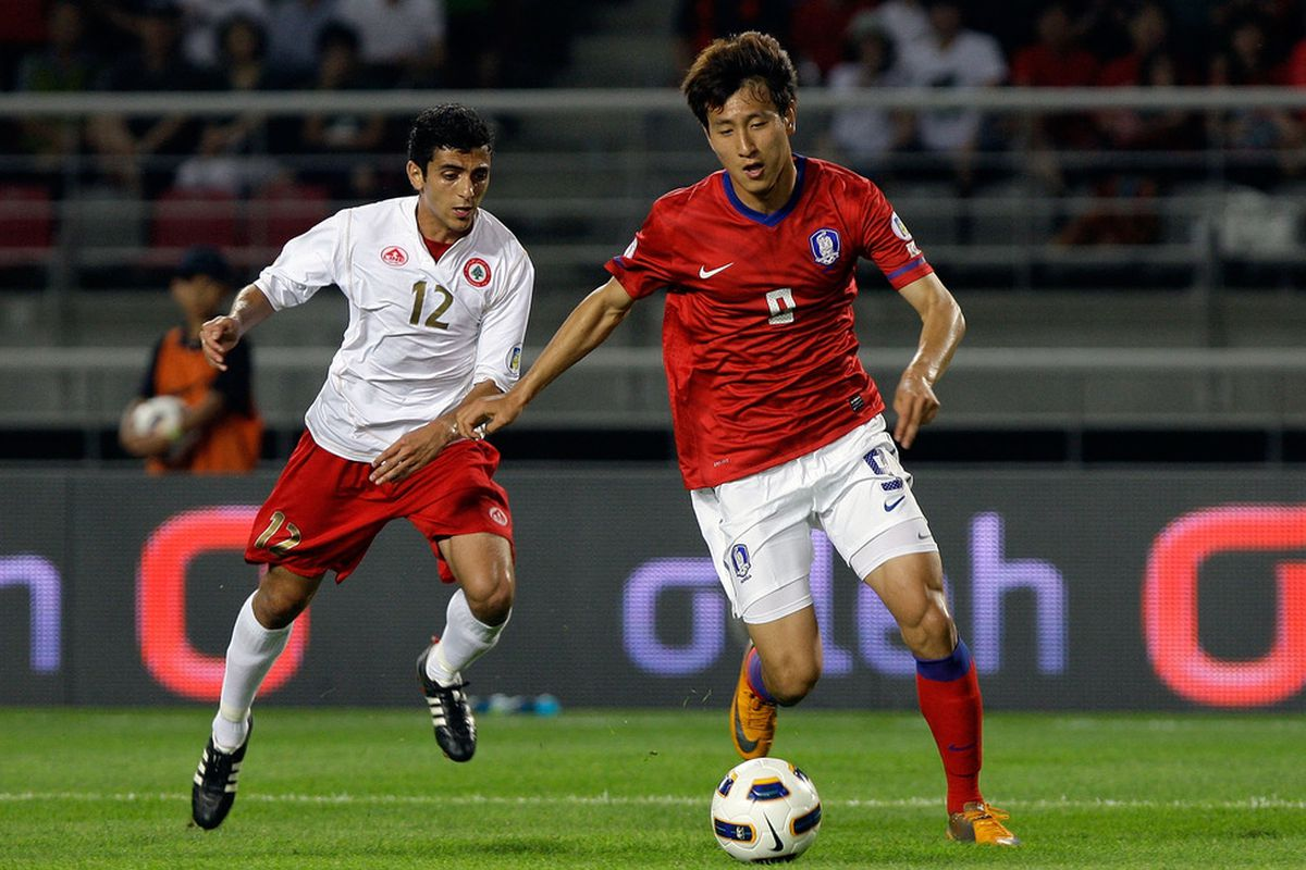 Ji Dong-Won saw little playing time, but had a decent impact as Korea defeated Lebanon 3-0 in World Cup qualifying.