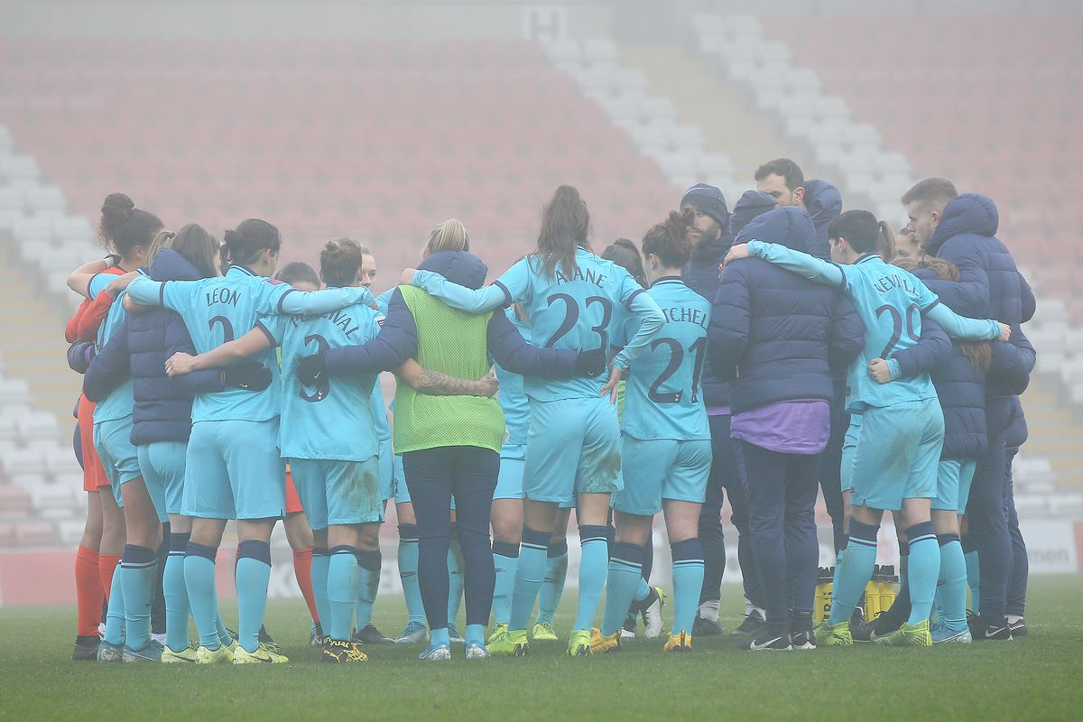 Manchester United v Tottenham Hotspur - Barclays FA Women's Super League