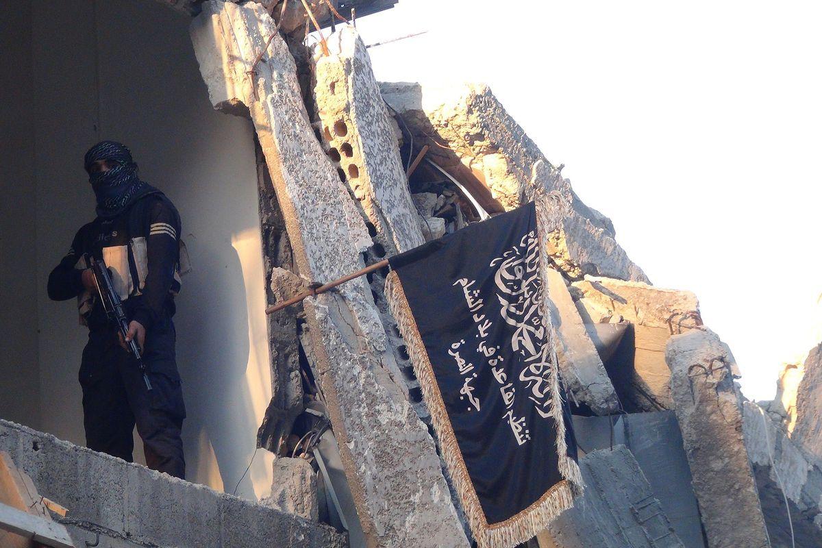 An al-Qaeda fighter in Syria.