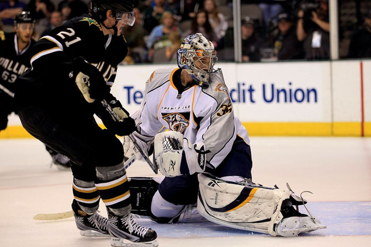 """""""I was so certain that Goose was going to shoot."""" - Pekka Rinne"""