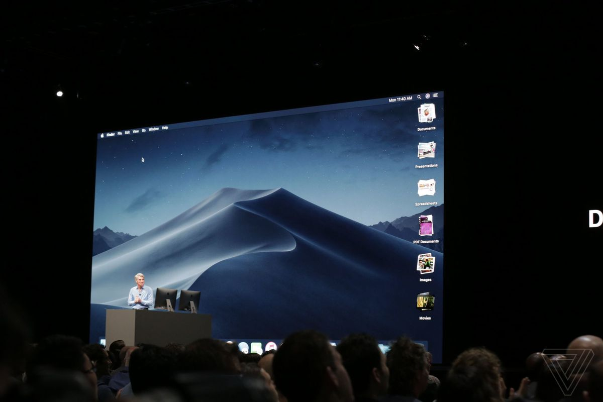 macOS Mojave update announced with dark mode, desktop stacks, and