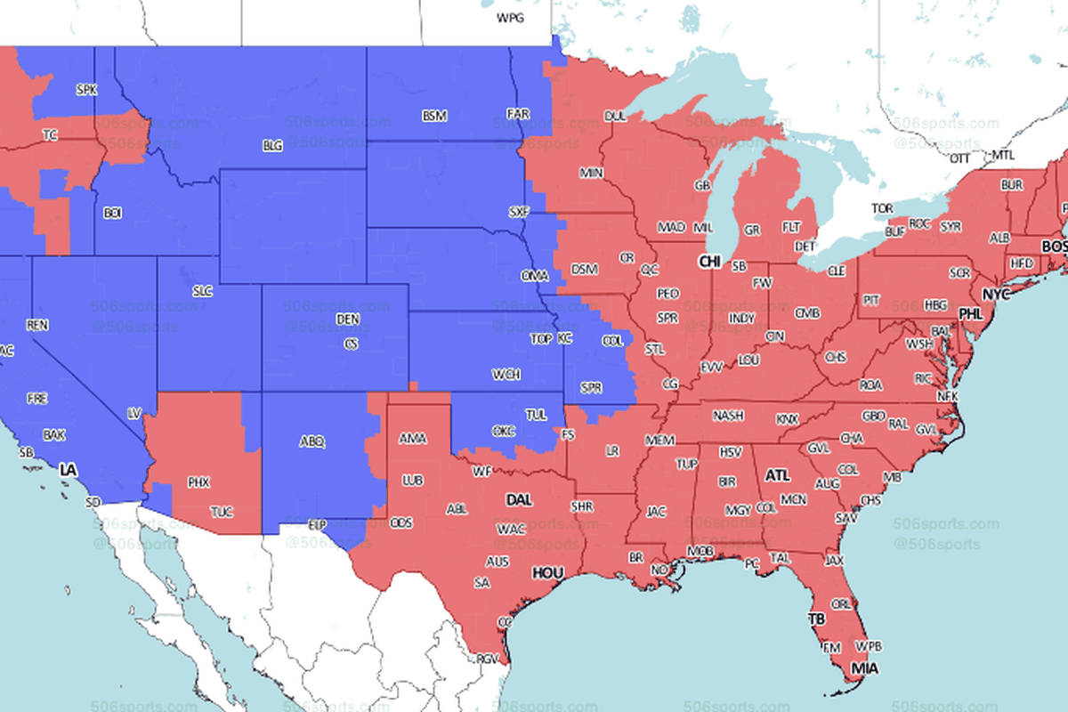 Jacksonville Jaguars vs. New England Patriots: Week 2 TV viewing map ...