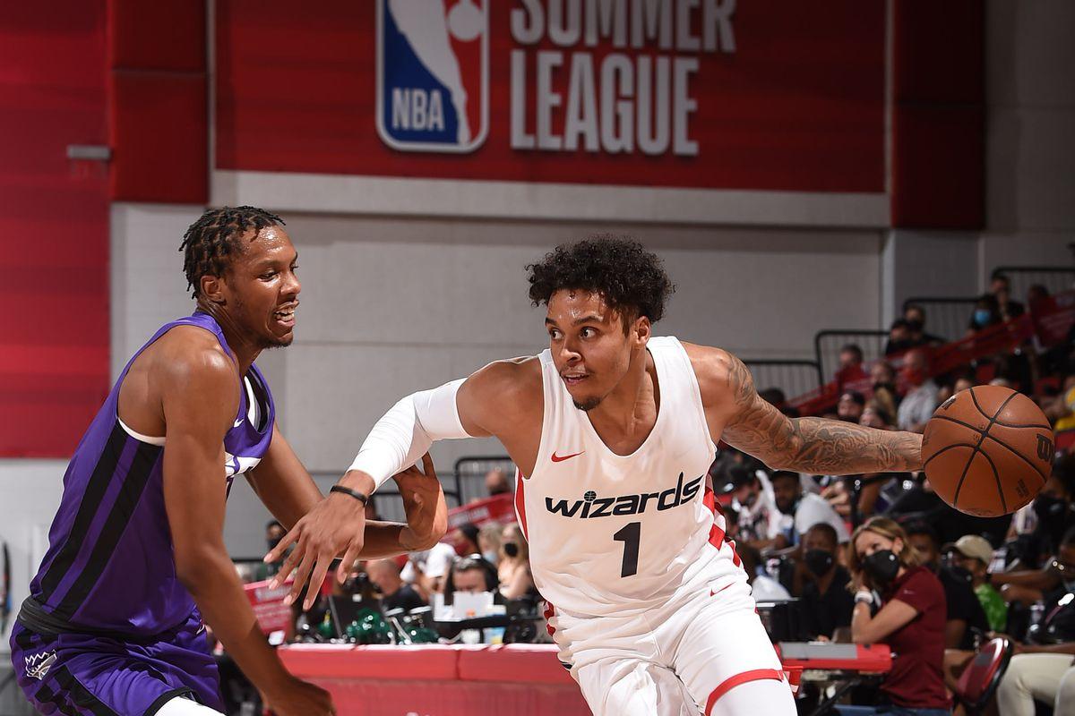 2021 Las Vegas Summer League - Sacramento Kings v Washington Wizards