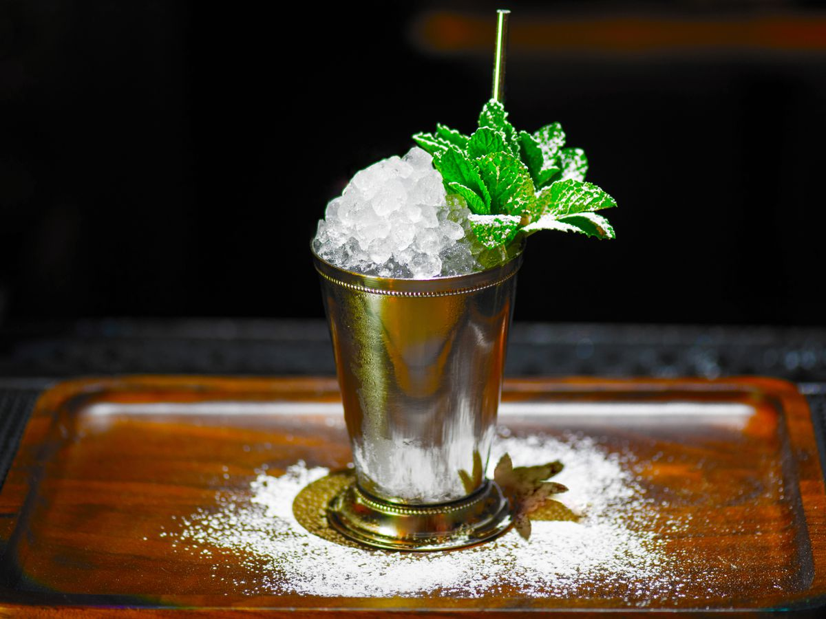 The julep at Roosevelt Room