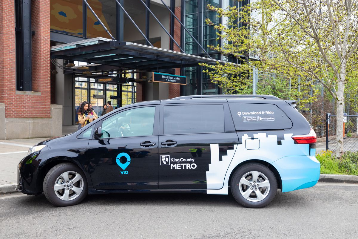 King County Metro S Ride Hailing Service Expands To Southeast