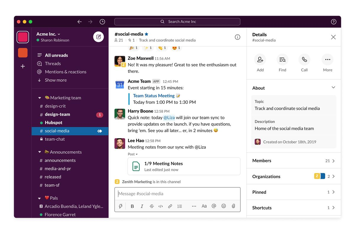 Slack unveils its biggest redesign yet - The Verge