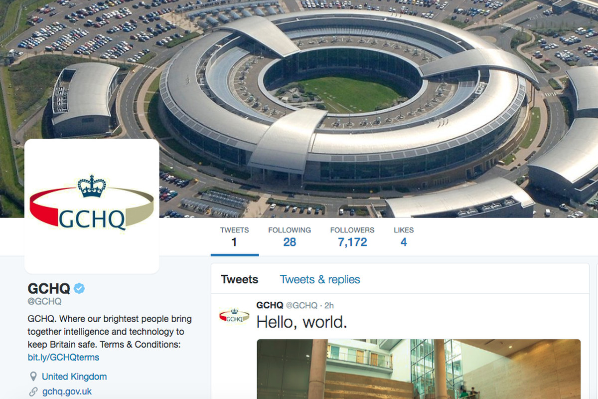 Non Muslim Perspective On The Revolution Of Imam Hussain: GCHQ Joins Twitter, Leaves DMs Open