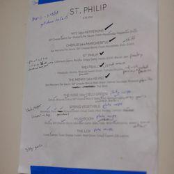 <em>A menu draft.</em>