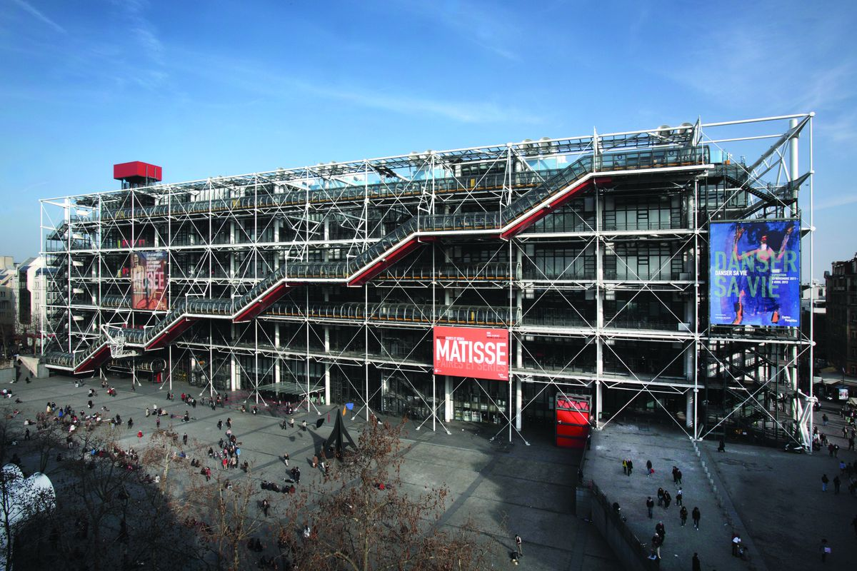 Centre pompidou a monument to modernity 8 things you - Centre george pompidou architecture ...