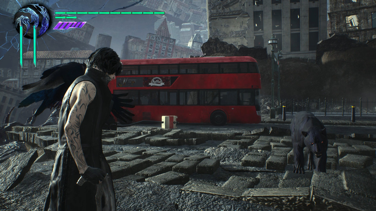 Devil May Cry 5 V and Shadow