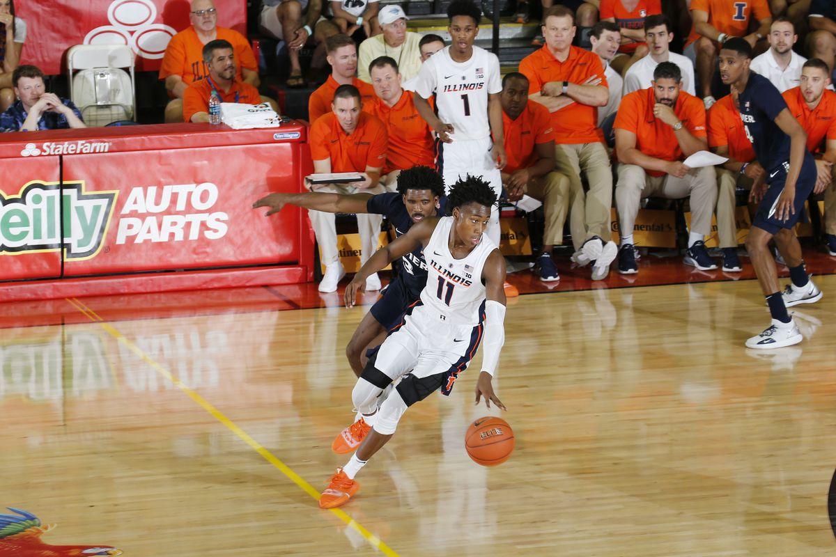 NCAA Basketball: Maui Invitational-Xavier at Illinois