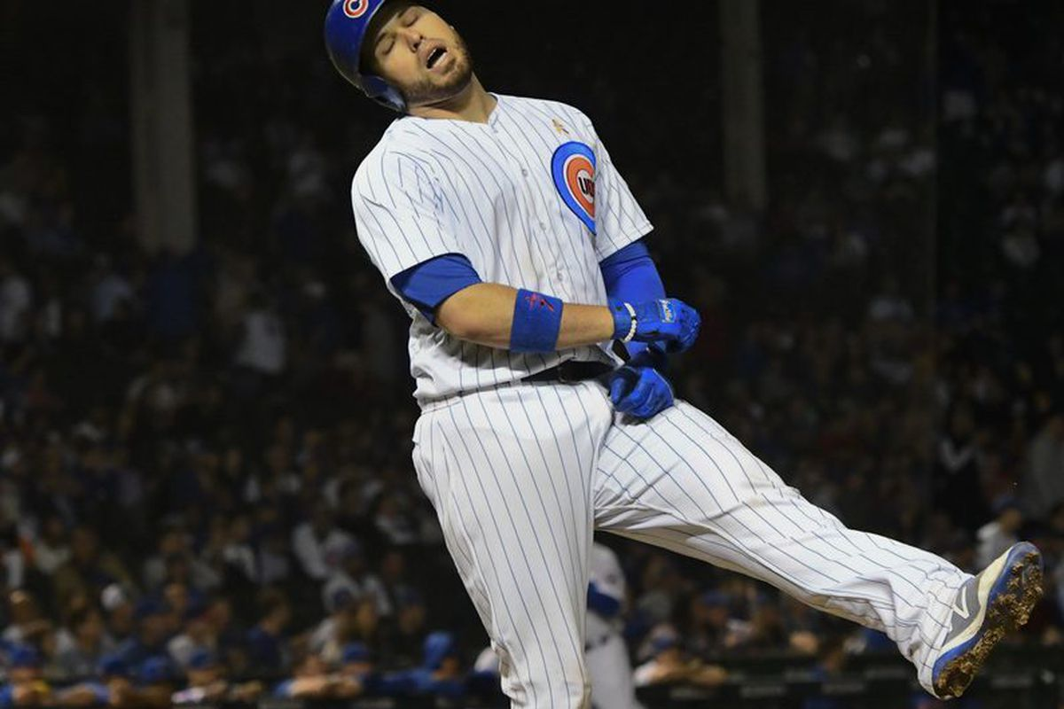 04ff5c2bc4a The Cubs  Victor Caratini reacts after lining out in the ninth inning  against the Brewers on Wednesday at Wrigley Field. (AP Photo Matt Marton)